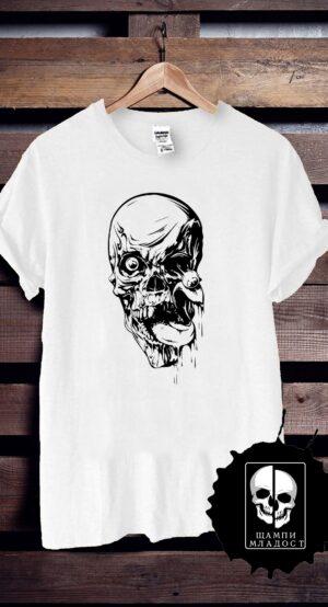 Тениска Skull Dark