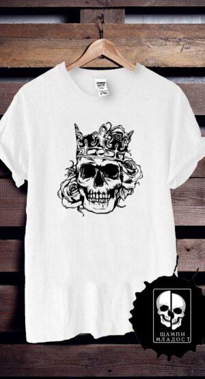 Тениска Skull and Roses