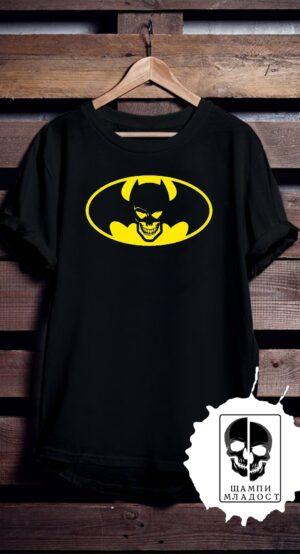 Тениска Skull Batman