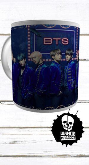 Чаша BTS
