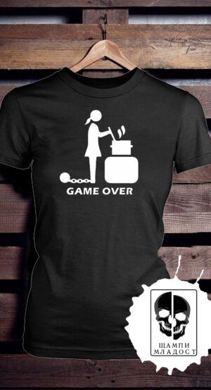 Тениска за Моминско парти Game Over #2