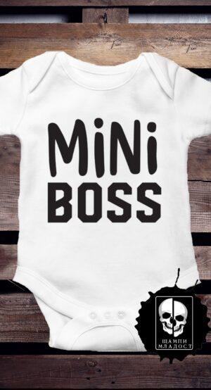 Бебешко Боди - Mini Boss