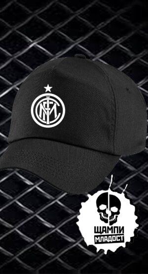 Шапка с козирка Inter