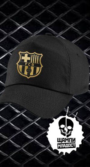 Шапка с козирка Barca