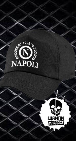 Шапка с козирка Napoli