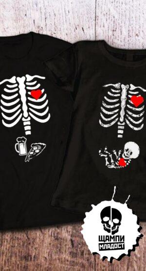 Тениски за двойки Той & Тя