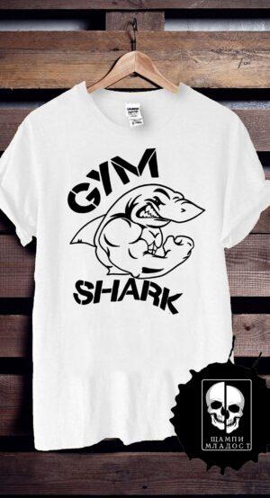 Тениска за фитнес GYM SHARK