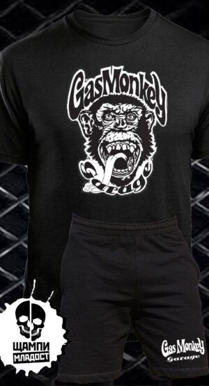 Комплект Тениска и Шорти Gas Monkey