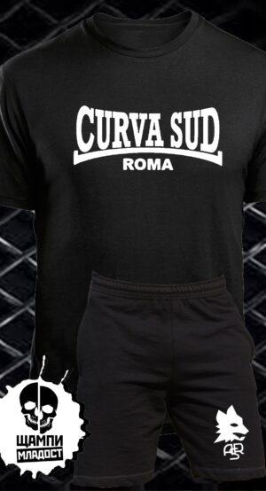 Комплект Тениска и Шорти Curva Sud Roma