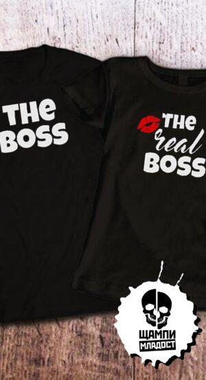 Тениски за двойки The Boss