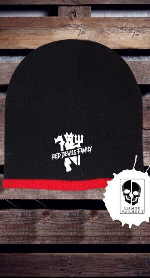 Зимна шапка Red Devils Family