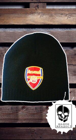 Зимна шапка на Арсенал