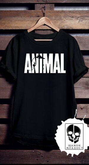 тениска за фитнес Animal