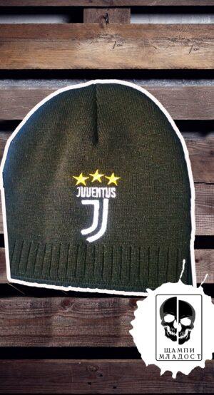 Зимна шапка на Ювентус