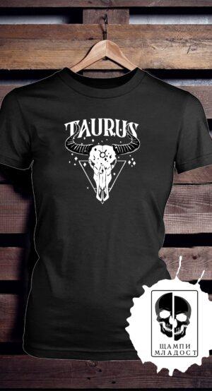 Тениска зодия телец