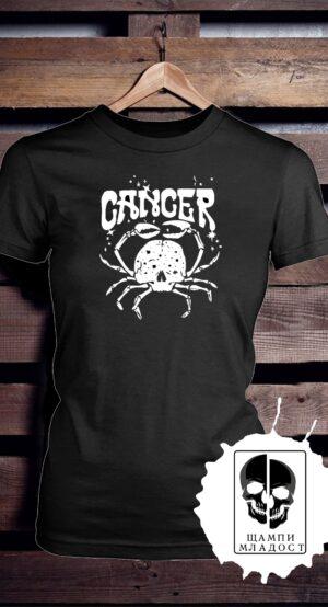 Тениска зодия рак