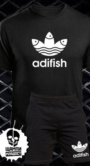Комплект Тениска и Шорти Adifish