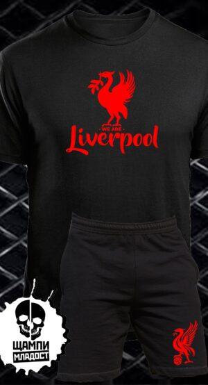 Комплект Тениска и Шорти Liverpool FC