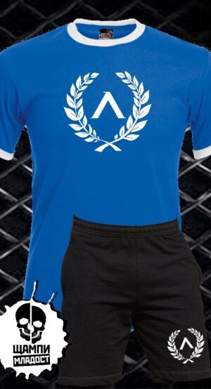 Комплект Тениска и Гащета Левски
