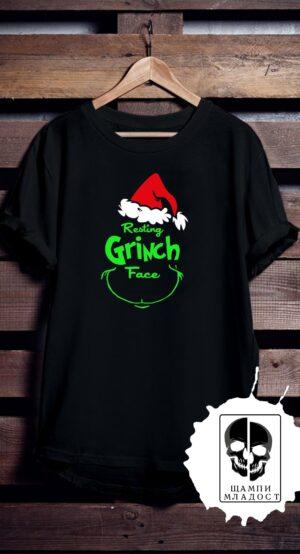 Тениска Resting Grinch face
