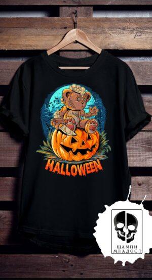 Тениска за Halloween Bear