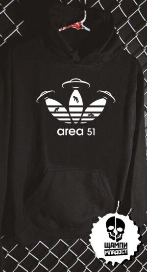 Суичър Area 51 Adidas