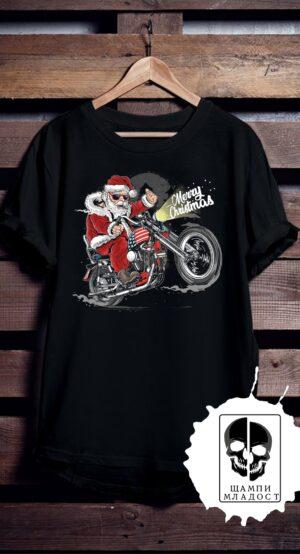 Тениска Merry Christmas Moto
