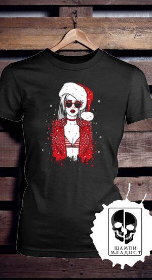 Тениска Lady Xmas