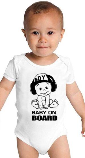 Бебешко Боди Baby on Board