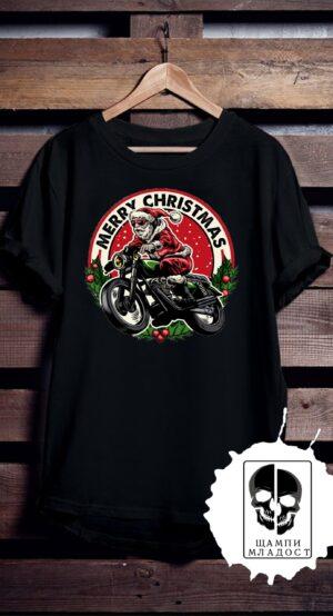 Тениска Merry Christmas Rider