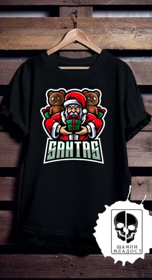 Тениска Bad Santas