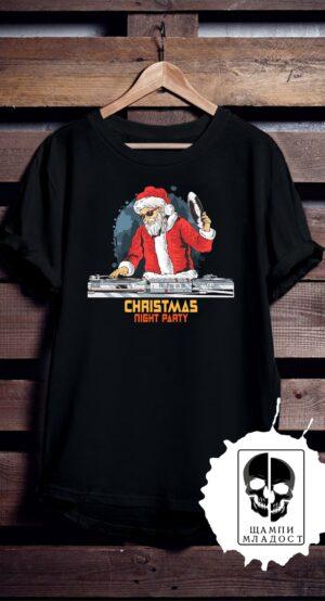 Тениска Christmas Night Party