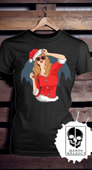 Тениска Merry Christmas Midnight