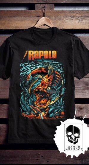 Тениска с принт Rapala