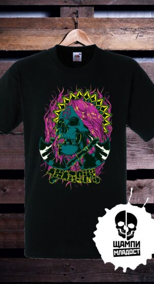 Тениска с принт Anarchy 2