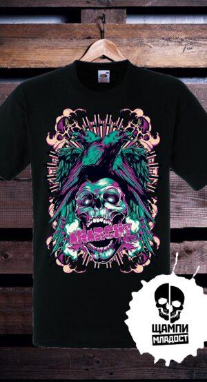 Тениска с принт Anarchy