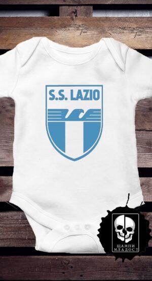 Бебешко Боди S.S.Lazio