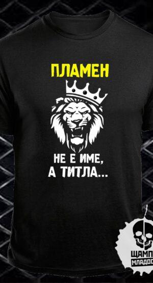 Тениска Пламен не е име а титла