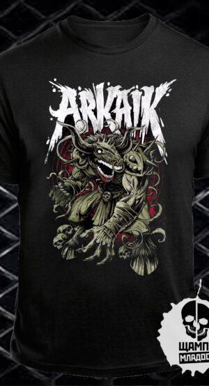 Тениска с принт Arkaik