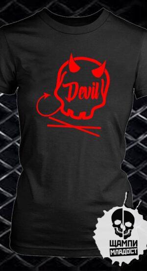 Тениска Devil