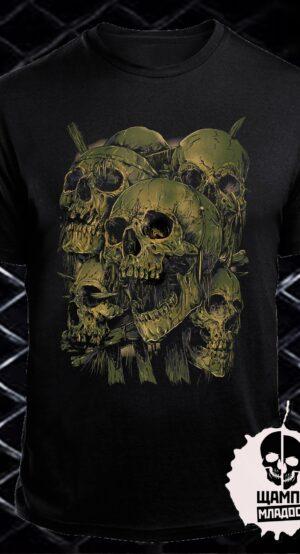 Тениска Skull Army