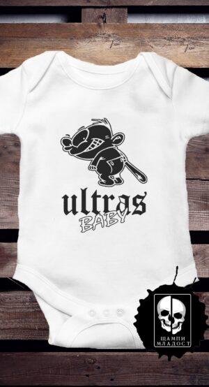 Бебешко боди Ultras Baby