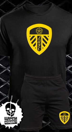 Комплект Тениска и Шорти Лийдс Юнайтед