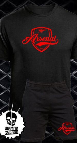 Комплект Тениска и Шорти Арсенал